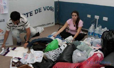 Temporal: instituciones y ONG activan campañas para ayudar a damnificados