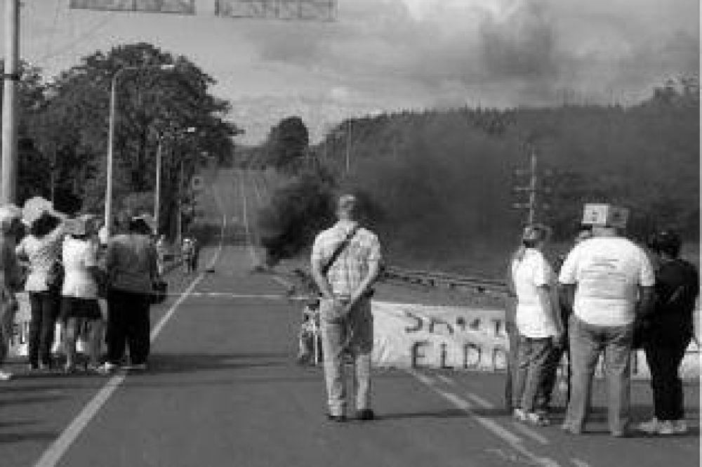 Luego de un nuevo corte de la Ruta 12, trabajadores del Samic levantaron el paro