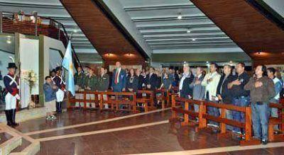El Diputado Scipioni homenajeó en la Catedral de Avellaneda a los Combatientes y Héroes caídos en Malvinas