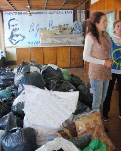 La solidaridad dice ¡Presente! : Mar del Plata sigue colaborando con los damnificados en La Plata