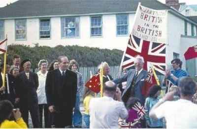 """Habitantes de Malvinas a Thatcher: """"Descansa en paz Maggie, por siempre agradecidos"""""""