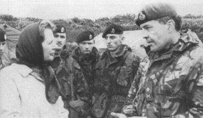 Margaret Thatcher y la guerra de Malvinas