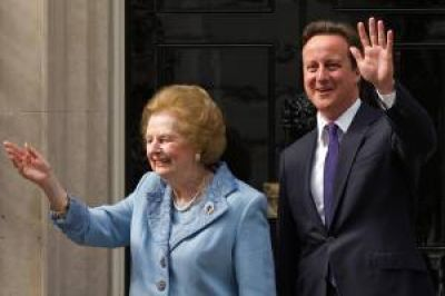 """Cameron: """"Gran Bretaña perdió a una gran líder"""""""