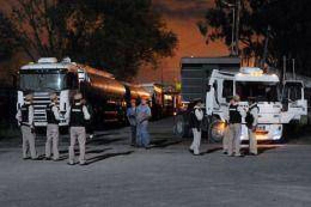 Terminó sin acuerdo la audiencia de conciliación entre el sindicato de Camioneros y Supermercadistas