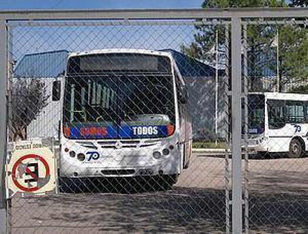 Crónica del paro de transporte que ayer sorprendió a San Luis