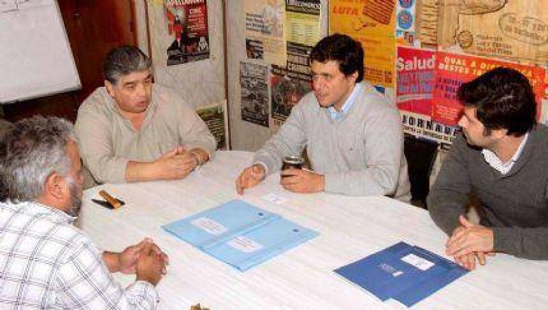 Luz y Fuerza Mar del Plata firmó un convenio con la Universidad Atlántida Argentina