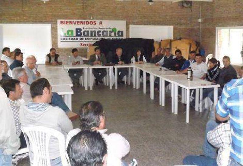 Se reunieron los gremios locales con el titular del Ministerio de Trabajo