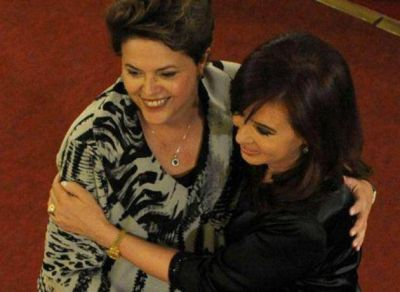 Tras la tensión por Vale, finalmente se reúnen Cristina Kirchner y Dilma Rousseff