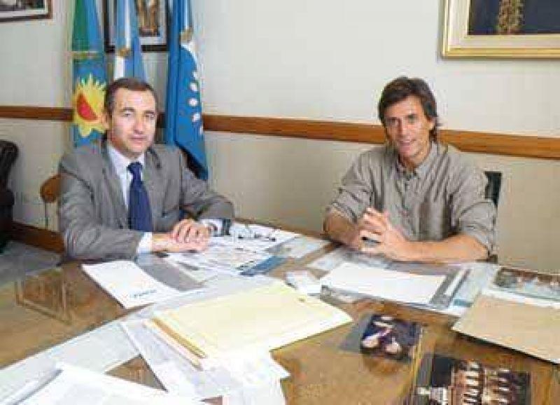 El director regional de IOMA se reunió con Franetovich