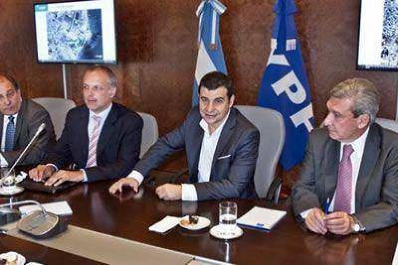 YPF y la provincia acordaron realizar mas obras en los yacimientos