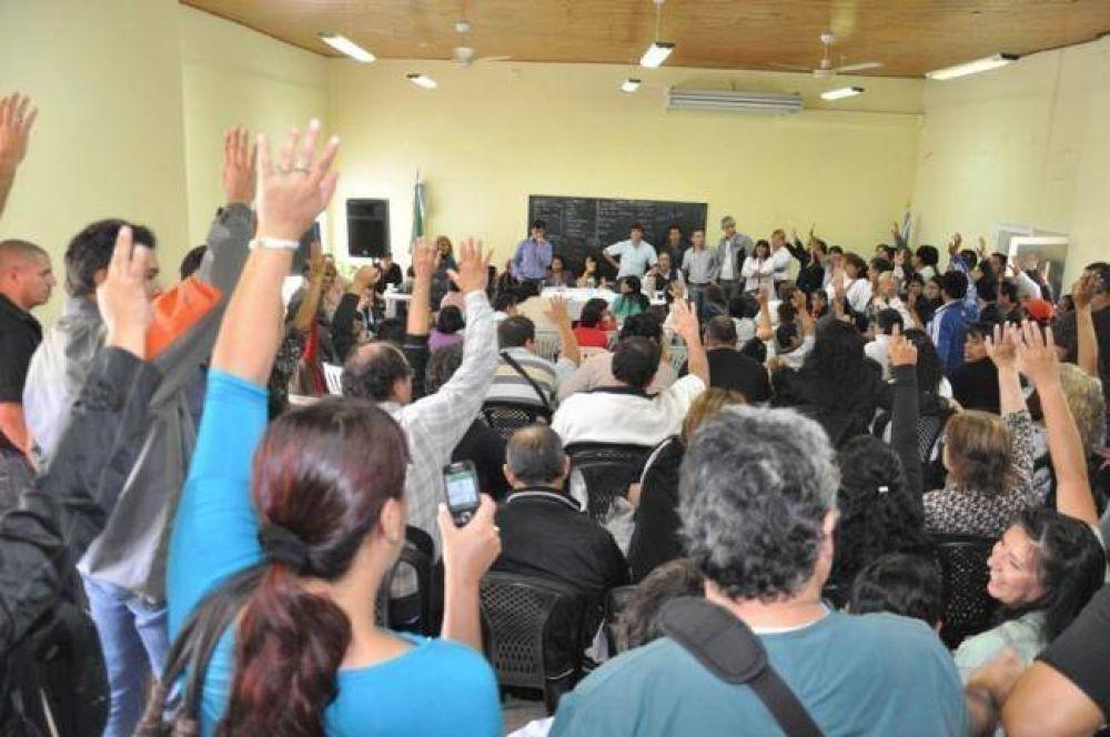 El plenario de UPCP aprobó el pago de un adelanto propuesto por el Ejecutivo