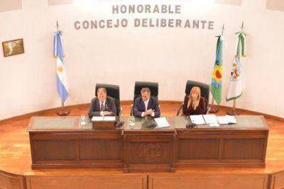Cariglino abrió el periodo de sesiones ordinarias en Malvinas Argentinas