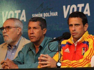 """Capriles: """"Lo que decida el pueblo es palabra sagrada"""""""