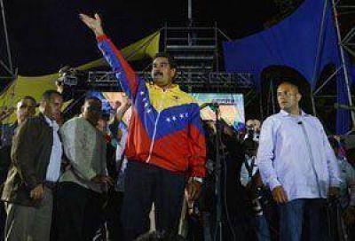 Maduro es el nuevo presidente de Venezuela tras ganar en ajustadísima elección