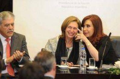 La Presidenta pidió reconocer el resultado electoral en Venezuela