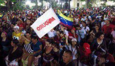 Cruce e incidentes en la Embajada de Venezuela