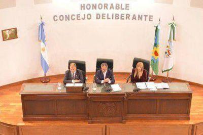 Malvinas Argentinas dio inicio al per�odo de sesiones ordinarias
