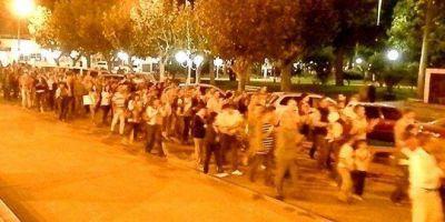 La Protesta contra el Gobierno se hizo notar en Navarro