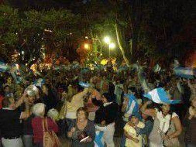 #18A: Masiva convocatoria en San Pedro