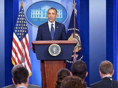 """Barack Obama: """"No vamos a sucumbir frente al terrorismo que nos ataca"""""""