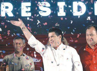 Triunfó Cartes y los colorados vuelven al gobierno en Paraguay
