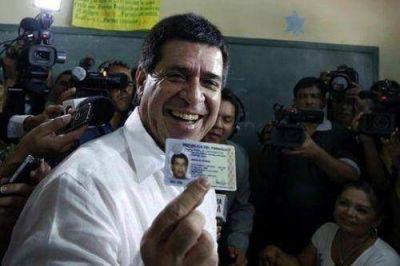 Horacio Cartes ganó las elecciones en Paraguay