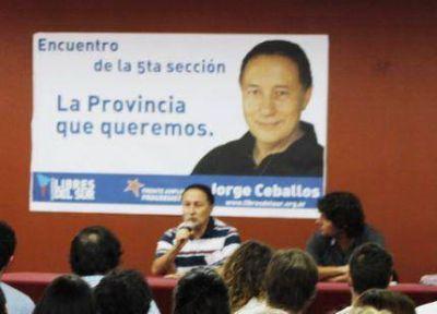 Juan Pablo Malagutti es candidato a senador por la Quinta Sección por Libres del Sur