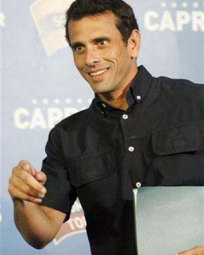 """Capriles: """"La Argentina parece parte del gobierno chavista"""""""