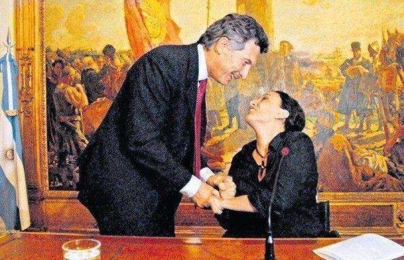 Michetti renunció para ser candidata