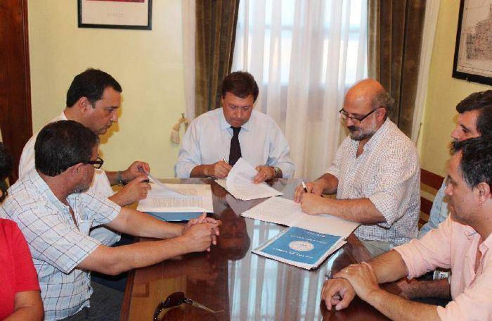 Unter aceptó mejora que supera el promedio patagónico