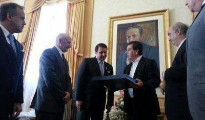 Ritondo fue recibido por el Presidente del Paraguay