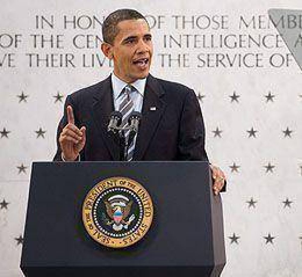 Obama ratificó su confianza en la CIA tras los informes de tortura