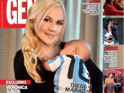 """Verónica Ojeda: """"Quiero que mi hijo crezca con su familia"""""""