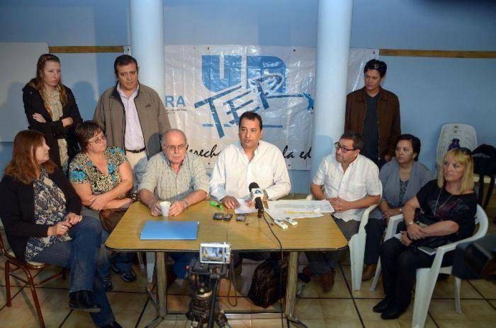 No habrá congreso de Unter para tratar el acuerdo