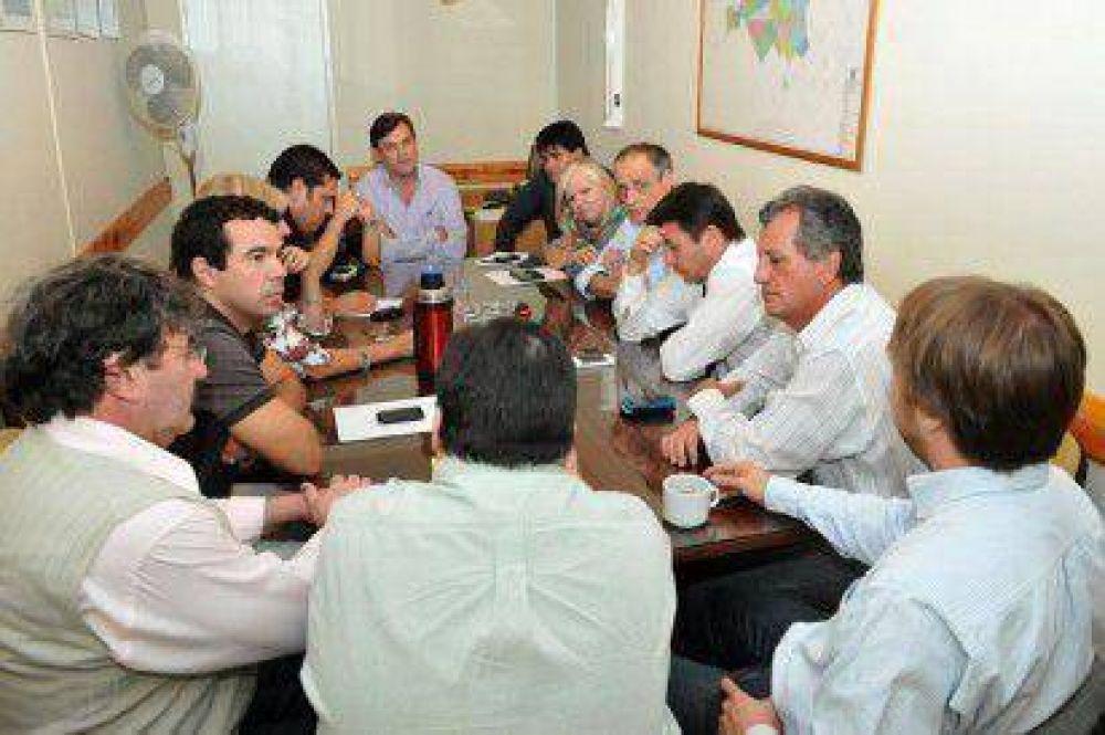 Pérez Catán explicó a los concejales la estrategia salarial del Municipio con sus empleados