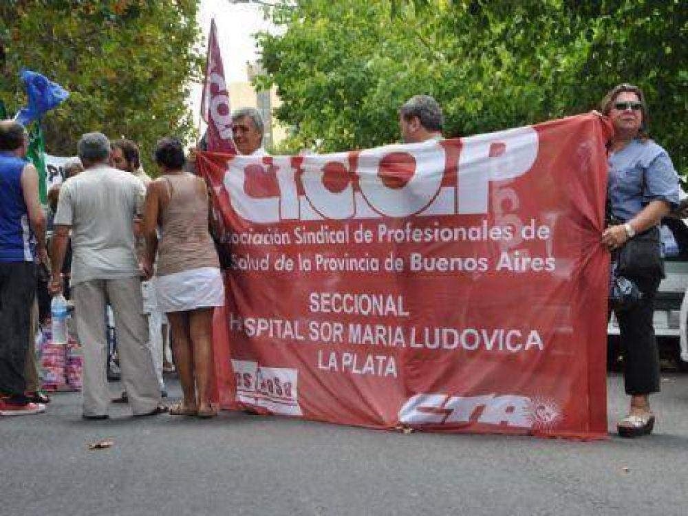 """La salud de paro: """"Vamos a seguir luchando por lo que nos corresponde"""", dijo la presidenta de la Cicop"""