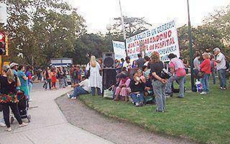 Echeverria: La Multisectorial por la salud renovó sus reclamos a Gray