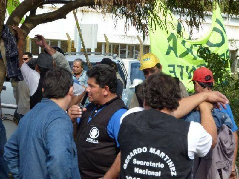 Se llegó a un acuerdo entre Alto Paraná y UOCRA