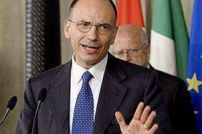 Italia: Letta comenzó las consultas para formar gobierno