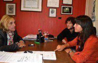 Vilma Baragiola y Victoria Vuoto con agenda común