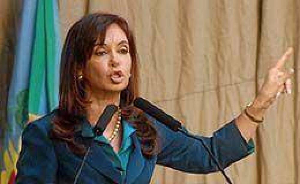 "Cristina: ""Voy a proponer que la OIT ingrese al G-20"""