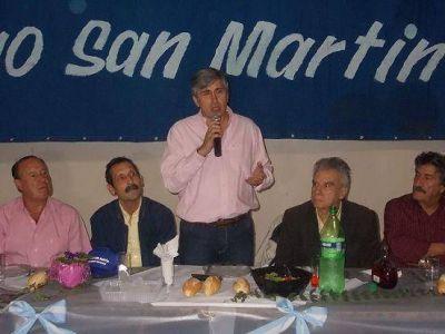 La agrupación Nuevo San Martín realizó la peña de la militancia