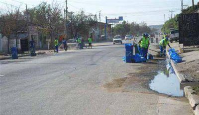 Limpieza y mantenimiento en barrios