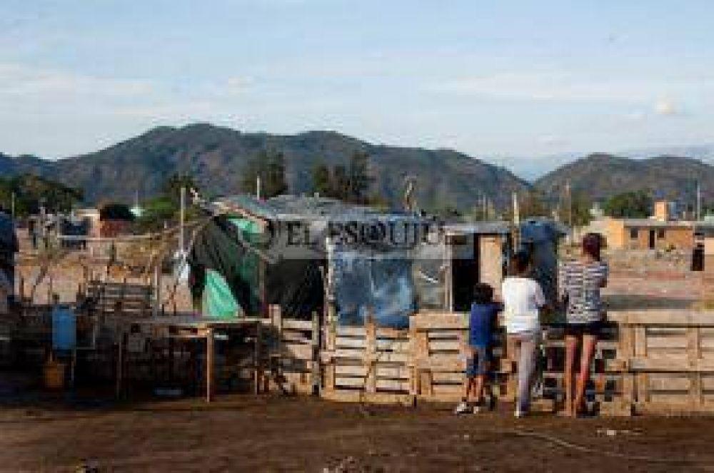 Más de 25 mil personas viven en asentamientos en la Capital