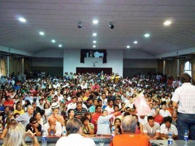 """Encuentro del NEA en Sáenz Peña: """"La mayoría está a favor de ir a las PASO con candidatos propios"""""""