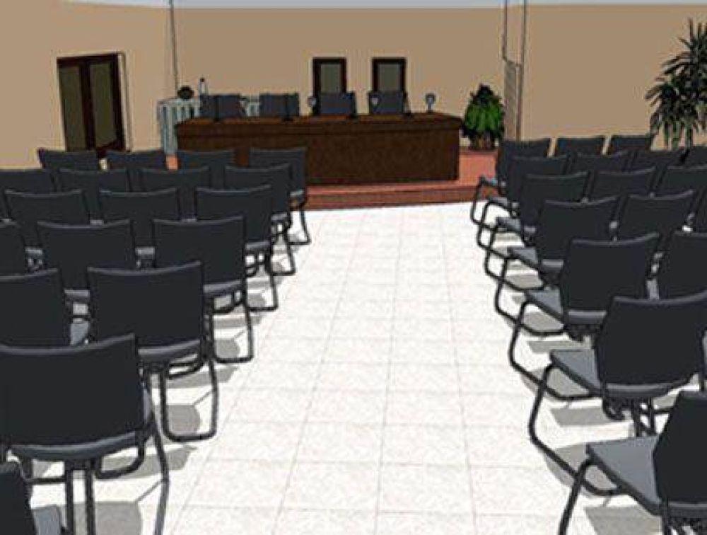 Nuevo emprendimiento del SEOM: Construirán un auditorio para 200 personas