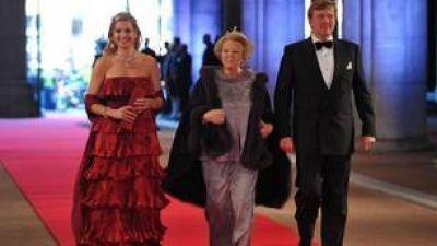 Beatriz se despide con una cena de gala junto a Máxima y Guillermo Alejandro