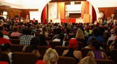 Rozas encabezó el Encuentro de Mujeres del Chaco