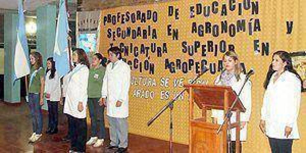 Se lanzó el profesorado de educación secundaria en Agronomía en el ISFDCyT
