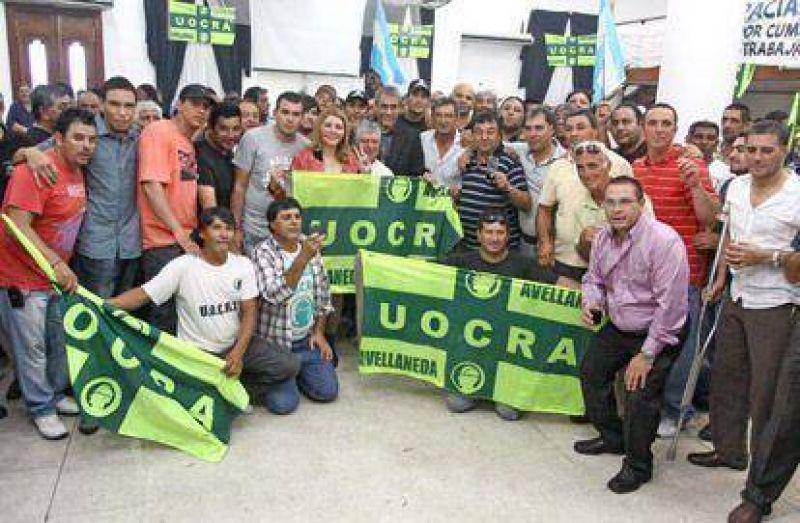 Héctor Villagra asumió su séptimo mandato al frente de la UOCRA Avellaneda
